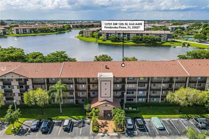 Residential Property for sale in 13701 SW 12th St 408A, Pembroke Pines, FL, 33027