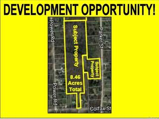 Land for sale in 21505 PARKER Street, Farmington Hills, MI, 48336