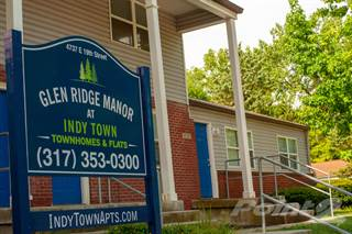 Apartment for rent in Glen Ridge Manor Townhomes and Flats (Indy Town), Indianapolis, IN, 46219