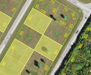 Lots And Land for sale in 12460 FILEFISH COURT Lot 58 - 12481 Ladyfish, Placida, FL