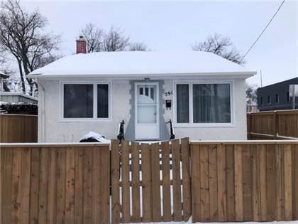 Single Family for sale in 591 Magnus AVE, Winnipeg, Manitoba, R2W2C8