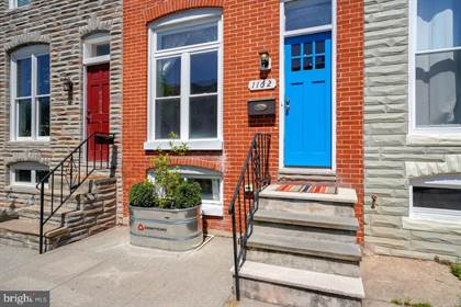 Residential Property for sale in 1162 CLEVELAND STREET, Baltimore City, MD, 21230