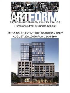Condominium for sale in ARTFORM TOWER, Mississauga, Ontario