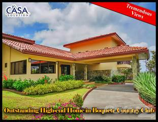 Residential Property for sale in Outstanding High-end Home for Sale in Boquete Country Club-, Boquete, Chiriquí