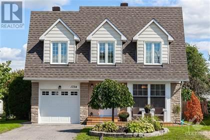 Single Family for sale in 1734 BONAVENTURE TERRACE, Ottawa, Ontario, K1C1W4