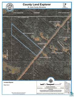 Lots And Land for sale in 46XX Lavaque Bypass, Hermantown, MN, 55811