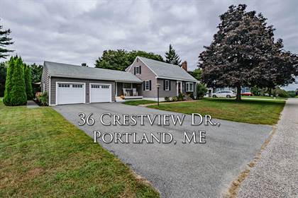 Residential Property for sale in 36 Crestview Drive, Portland, ME, 04103
