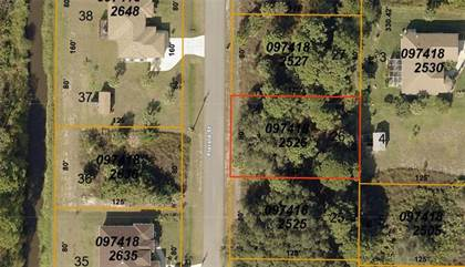 Lots And Land for sale in 0974182526 FLORALA STREET, North Port, FL, 34287