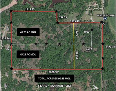 Lots And Land for sale in S 3410 Road, Chandler, OK, 74834
