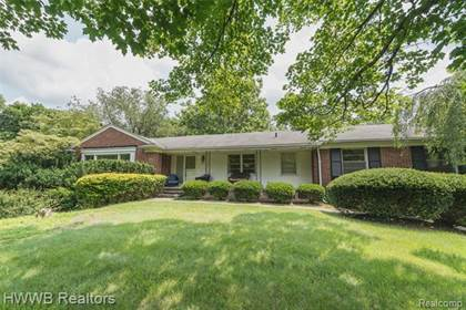 Residential Property for sale in 1600 HILLWOOD Drive, Bloomfield Hills, MI, 48304