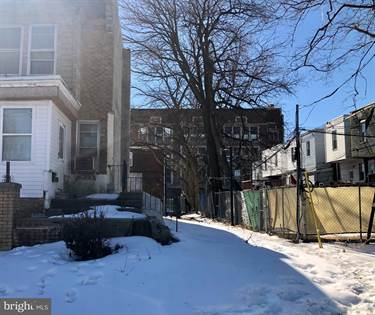 Lots And Land for sale in 2028 66TH AVENUE, Philadelphia, PA, 19138