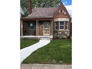 Single Family for sale in 18674 INDIANA Street, Detroit, MI, 48221