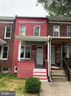 Residential Property for sale in 123 S HILTON STREET, Baltimore City, MD, 21229