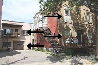 Residential Property for sale in 2281-2287 Rue de Villiers, Le Sud-Ouest, Montreal, Quebec
