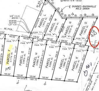 Lots And Land for sale in 001P Sullivan, Monroe, MI, 48161