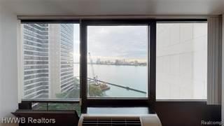 Condo for sale in 300 Riverfront Drive 11F, Detroit, MI, 48226