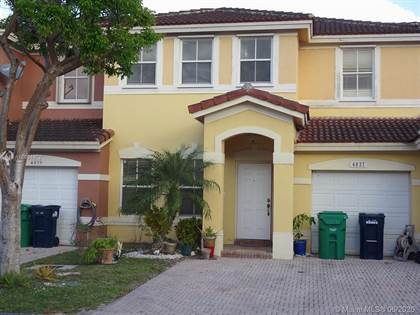 Residential for sale in 4827 SW 166th Ct 4827, Miami, FL, 33185