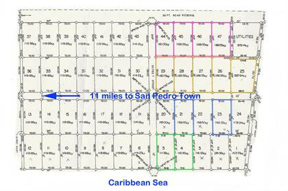 Lots And Land for sale in Punta Azul Beachfront, Ambergris Caye, Belize