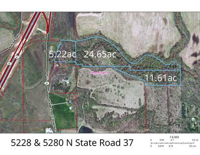 Lots And Land for sale in 5228 & 5280 N State Road 37, Bloomington, IN, 47404