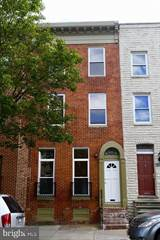 Townhouse for rent in 1521 W PRATT STREET, Baltimore City, MD, 21223