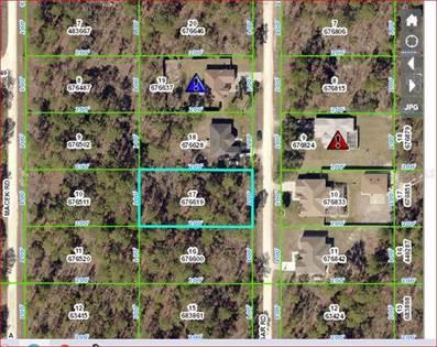 Lots And Land for sale in 18045 MACASSAR ROAD, Weeki Wachee, FL, 34614