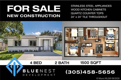 Residential Property for sale in 1755 NW 114th St, Miami, FL, 33167