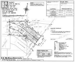 Vacant Land for sale in 23 CENTRE Street Unit2 PART, Barrie, Ontario, L4N3L3