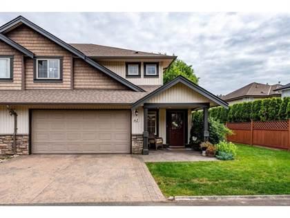 Single Family for sale in 44523 MCLAREN DRIVE 62, Chilliwack, British Columbia