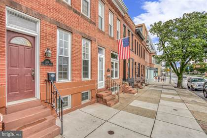 Residential for sale in 826 E FORT AVENUE, Baltimore City, MD, 21230