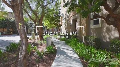 Townhouse for sale in 2492 Antlers Way , San Marcos, CA, 92078