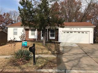 Single Family for rent in 6643 Foothills, Florissant, MO, 63033