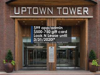 Apartment for rent in Gables Uptown Tower, Dallas, TX, 75204