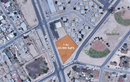 Lots And Land for sale in 530 N Yarbrough Drive, El Paso, TX, 79907