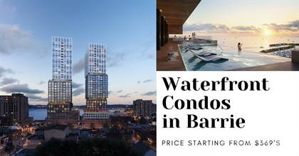 Condominium for sale in Debut Condo, Barrie - 55 Dunlop St W, Barrie, Ontario, L4N 1A4