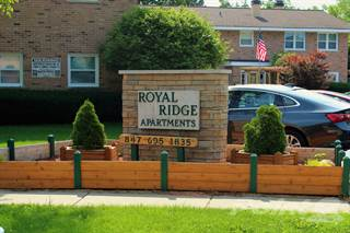 Apartment for rent in Royal Ridge Apartments - 1 Bedroom, Elgin, IL, 60123