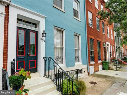 Residential Property for sale in 859 W LOMBARD STREET, Baltimore City, MD, 21201