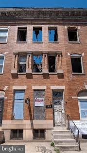 Residential Property for sale in 1618 W NORTH AVENUE, Baltimore City, MD, 21217