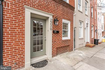 Residential Property for sale in 2229 ESSEX STREET, Baltimore City, MD, 21231