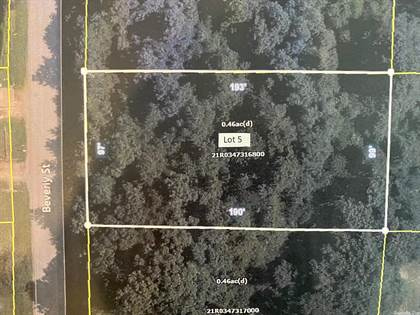 Lots And Land for sale in 00 Beverly Street, Jacksonville, AR, 72076