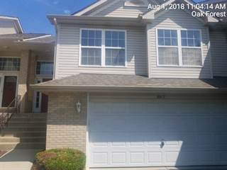 Townhouse for sale in 6812 Oak View Court, Oak Forest, IL, 60452