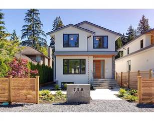 Single Family for sale in 750 GRANTHAM PLACE, North Vancouver, British Columbia, V7H1T1
