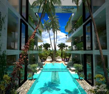 For Sale: 1Bdr  Garden Swim-up, Giada Towers, Aldea Zama!, Tulum, Quintana  Roo - More on POINT2HOMES com