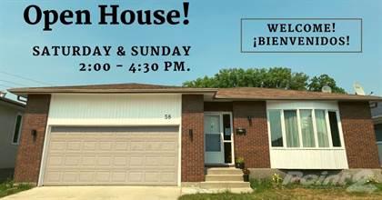 Residential Property for sale in 58 Jeffrey Crescent, Winnipeg, Manitoba, R2K 4C2