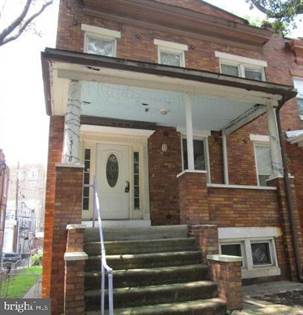 Residential for sale in 3118 N CALVERT STREET, Baltimore City, MD, 21218