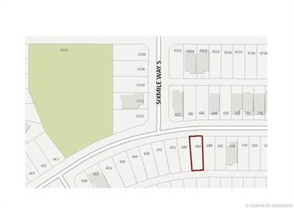 Lots And Land for sale in 684 Sixmile Crescent S, Lethbridge, Alberta, T1K 6Z9