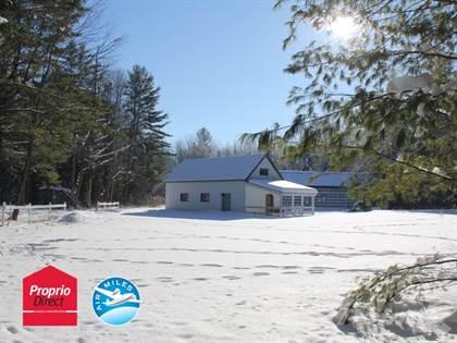 Farm And Agriculture for sale in 252-256 2e Rang, Saint-Bonaventure, Quebec, J0C1C0