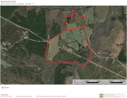 Lots And Land for sale in 1316 Iron Bridge Road, Lawrenceville, VA, 23868