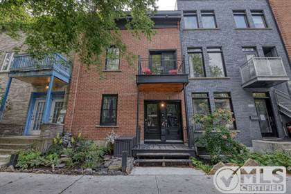 Multifamily for sale in 3826-3828 Rue Berri, Montreal, Quebec