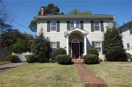 Residential Property for sale in 6011 Upper Brandon Place, Norfolk, VA, 23508