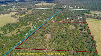 Lots And Land for sale in (+/- 25 Acres) Private Road 1022, Milano, TX, 76556